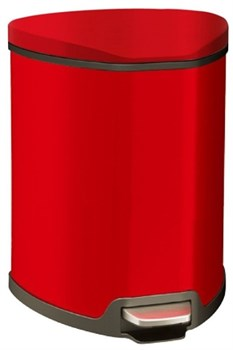 Урна для мусора (5л.) Система SOFT CLOSE RED  - фото 10133