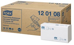 Бумажные листовые полотенца для диспенсеров 1-слой Tork Universal система H3 (120108) - фото 10230