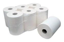 Рулонные бумажные полотенца для диспенсеров (6 рул/кор. 1сл.) арт.21230 (ручных, механических и автоматических) - фото 10247