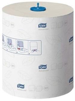 Бумажные рулонные полотенца 2-слоя Tork Matic Advanced система Н1 (120067) - фото 10249
