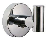 Крючок одинарный настенный металлический D281100 - фото 10323