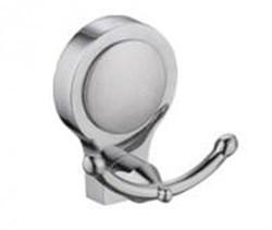Крючок двойной металлический - фото 10381