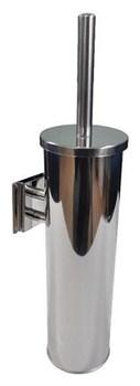 Ершик туалетный настенный с креплением металл хром - фото 10396