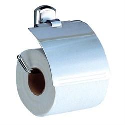 Держатель туалетной бумаги с крышкой WasserKRAFT (Oder K-3025) - фото 10508