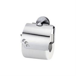 Держатель туалетной бумаги с крышкой WasserKRAFT (Isen К-4025) - фото 10560