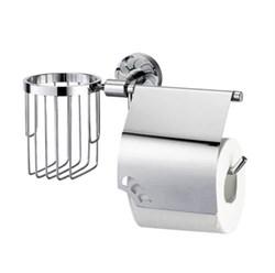 Держатель туалетной бумаги и освежителя WasserKRAFT (Isen К-4059) - фото 10604