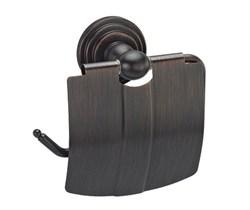 Держатель туалетной бумаги с крышкой WasserKRAFT (Isar К-7325) - фото 10639