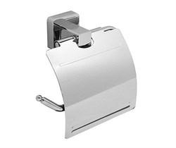 Держатель туалетной бумаги с крышкой К-6525 - фото 10678
