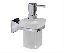 Дозатор для жидкого мыла стеклянный, 230 ml WasserKRAFT (Wern K-2599) - фото 10995