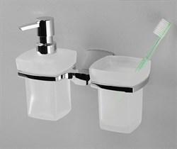 Держатель стакана и дозатора WasserKRAFT (Wern K-2589) - фото 11006
