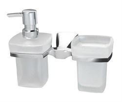 Держатель стакана и дозатора WasserKRAFT (Wern K-2589) - фото 11007