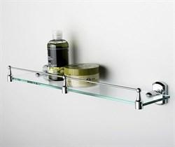 Полка стеклянная с бортиком WasserKRAFT (Oder K-3044) - фото 11082