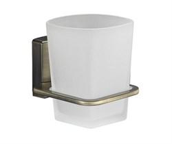 Стакан для зубных щеток стеклянный WasserKRAFT (Exter К-5228) - фото 11156