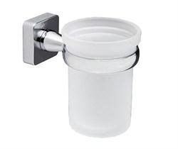 Стакан для зубных щеток стеклянный WasserKRAFT (Lippe К-6528) - фото 11168