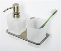 Держатель стакана и дозатора WasserKRAFT (Exter К-5289) - фото 11173