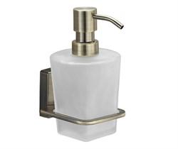 Дозатор для жидкого мыла стеклянный WasserKRAFT (Exter К-5299) - фото 11192