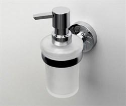 Дозатор для жидкого мыла стеклянный WasserKRAFT (Isen К-4099) - фото 11198