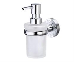 Дозатор для жидкого мыла стеклянный WasserKRAFT (Isen К-4099) - фото 11199