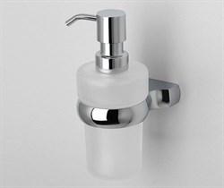 Дозатор для жидкого мыла стеклянный WasserKRAFT (Berkel К-6899) - фото 11201