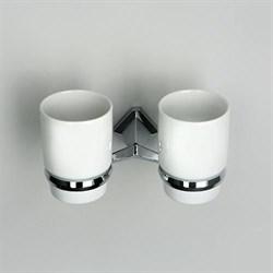 Подстаканник двойной керамический WasserKRAFT (Aller K-1128DC) - фото 11333
