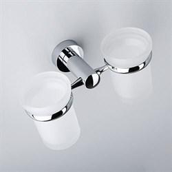 Подстаканник двойной стеклянный WasserKRAFT (Donau K-9428D) - фото 11363