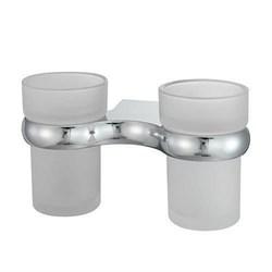 Подстаканник двойной стеклянный WasserKRAFT (Berkel К-6828D) - фото 11379