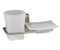 Держатель стакана и мыльницы WasserKRAFT (Exter К-5226) - фото 11395