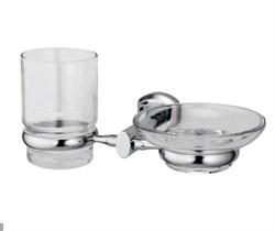 Держатель стакана и мыльницы WasserKRAFT (Oder K-3026) - фото 11406