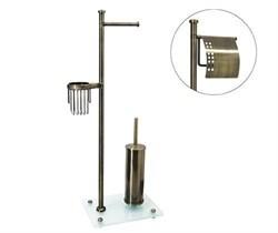 Напольный держатель для туалетной бумаги К-1234 Wasserkraft - фото 11429