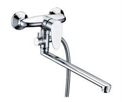 Смеситель для ванны с длинным поворотным изливом WasserKRAFT (Leine 3502L) - фото 11788