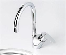 Смеситель для кухни с поворотным изливом WasserKRAFT (Leine 3507) - фото 11802