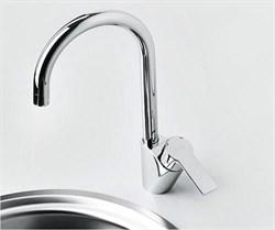 Смеситель для кухни с поворотным изливом WasserKRAFT (Ammer 3707) - фото 11863