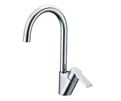 Смеситель для кухни с поворотным изливом WasserKRAFT (Ammer 3707) - фото 11864