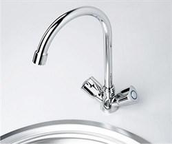 Смеситель для кухни с поворотным изливом WasserKRAFT (Amper 2907) - фото 11872