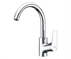 Смеситель для кухни с поворотным изливом WasserKRAFT (Lippe 4507) - фото 12095