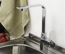 Смеситель для кухни с поворотным изливом WasserKRAFT (Dinkel 5807) - фото 12100