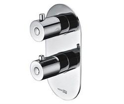 Термостатический смеситель для ванны и душа WasserKRAFT (Berkel 4833 Thermo) - фото 12204