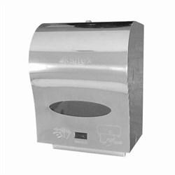 Диспенсер автоматический (сенсорный) для рулонных полотенец KSITEX A1-21S (блестящий металл) - фото 12583