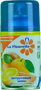 Баллон для автоматического освежителя воздуха La Fleurette, аромат Цитрусовый микс - фото 12593