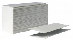 Бумажные полотенца листовые Z-сложения для диспенсеров и дозаторов 1-сл. (Однослойные) - фото 13962