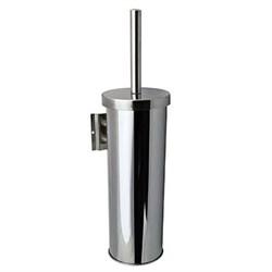 Ершик туалетный настенный с креплением металл хром - фото 14107