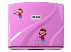 Диспенсер для бумажных полотенец Mario Kids 8329 Pink - фото 14438