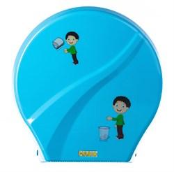Диспенсер для туалетной бумаги Mario Kids 8165 Blue - фото 14658