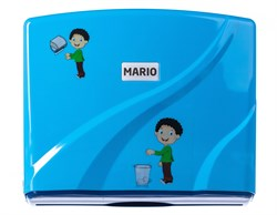Диспенсер для бумажных полотенец Mario Kids 8329 Blue - фото 14661
