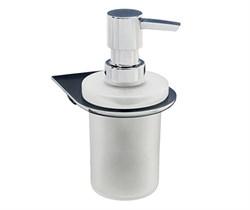 Дозатор для жидкого мыла стеклянный (Kammel K-8399) - фото 14910