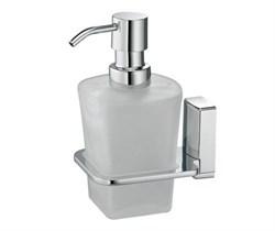 Дозатор для жидкого мыла стеклянный, WasserKRAFT (Leine K-5099) - фото 14922