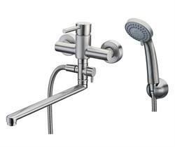 Смеситель для ванны с длинным поворотным изливом WasserKRAFT (Wern 4202L) - фото 15576