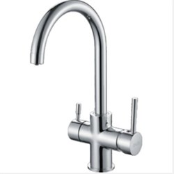 Купить Смеситель для кухни со встроенным фильтром (краном) под питьевую воду D-Lin D159315 по цене  4 048  руб.