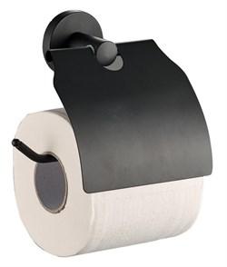 Держатель для туалетной бумаги c крышкой (D240111) - фото 19850