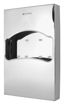 Диспенсер туалетных подкладок Ksitex TCN-506-1/4 блестящий - фото 9059